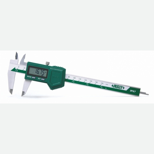 INSIZE Waterproof Digital Caliper 0-150mm (6