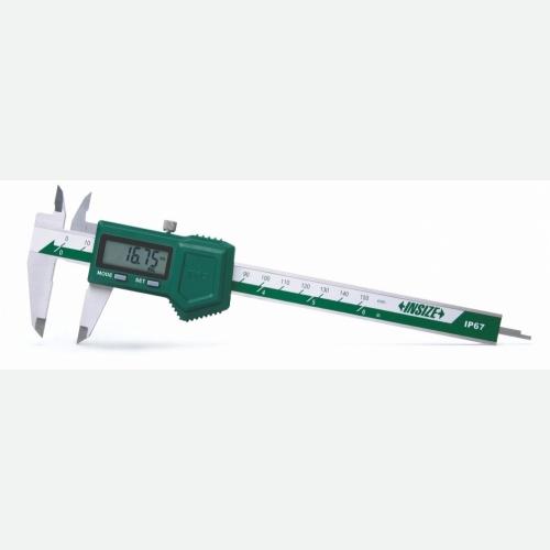 INSIZE Waterproof Digital Caliper 0-200mm (8