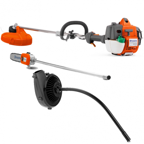 Husqvarna 3in1 Grass Trimmer, Pole Saw, Blower 327LDX-3in1
